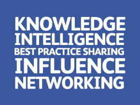 Knowledge, intelligence, best practice sharing, influence and networking events
